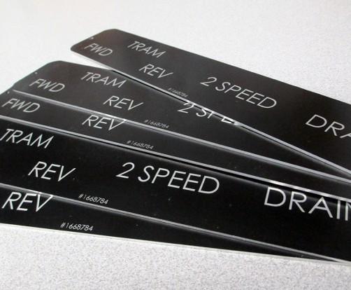 Custom Metal Nameplates In Dallas Metalphoto Name Plates
