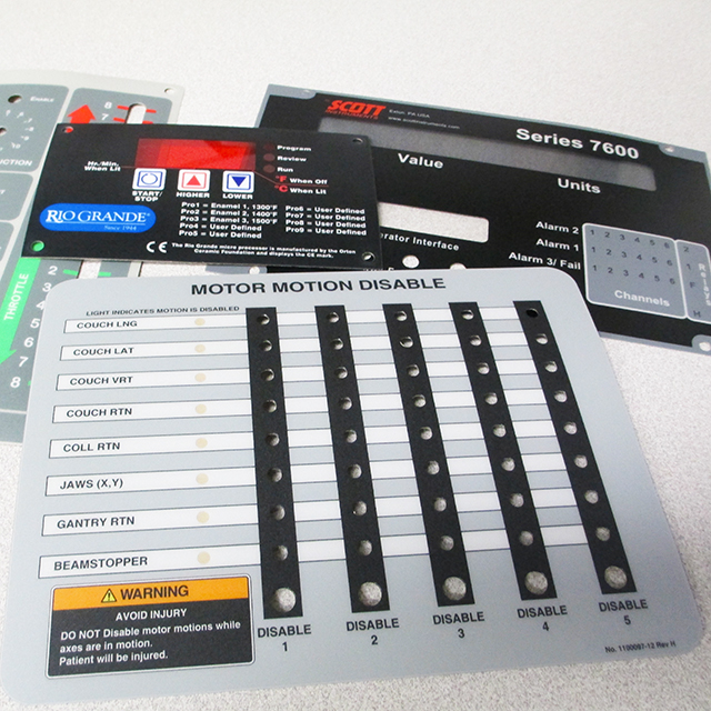 Custom Nameplates In Chicago Product Labels Decals